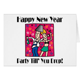 New Year's Eve Party Cards