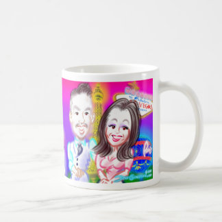 New Year's Eve Party Caricatures Mug 2015