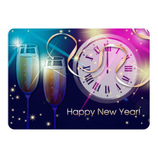 New Year's Eve Party Customizable Invitations