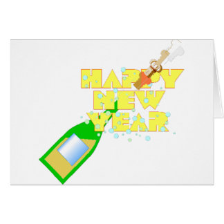 New Year's Eve Party Greeting Cards