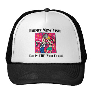 New Year's Eve Party Mesh Hat