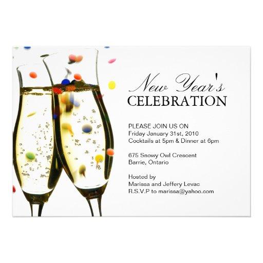NEW YEARS EVE PARTY INVITATION | Zazzle.co.uk