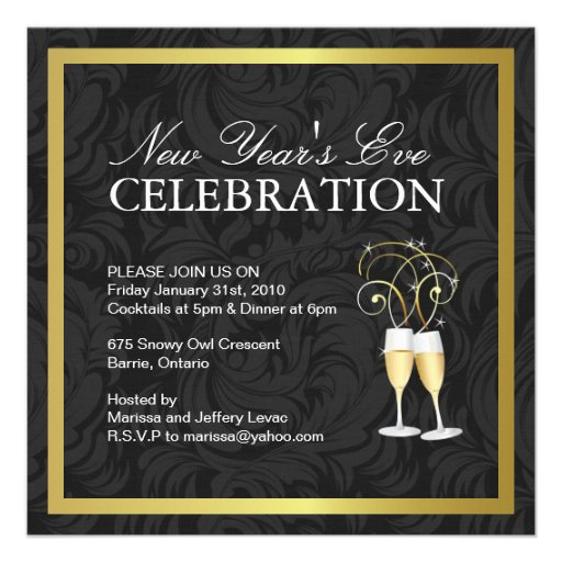 new year invite templates free - new year eve invitation templates free party invitations