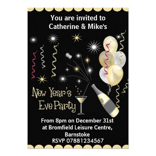 New Years Party Invitations absolutely amazing ideas for your invitation example
