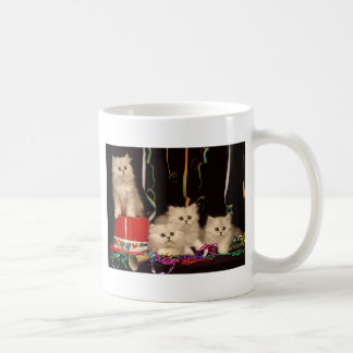 New Year's Eve Party Kittens Coffee Mug