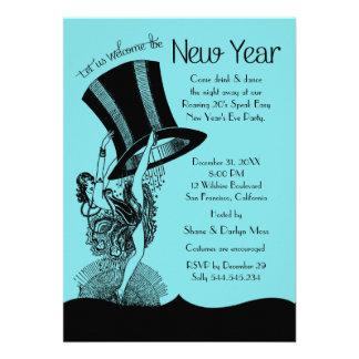 New Year's Eve Roaring 20's Party Custom Invitation