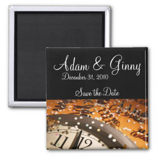 New Years Eve Save the Date Magnet
