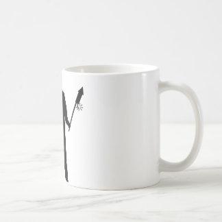 New Year's Eve skyrockets Basic White Mug