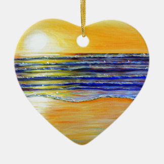 New Year's Eve Sunset Christmas Ornament