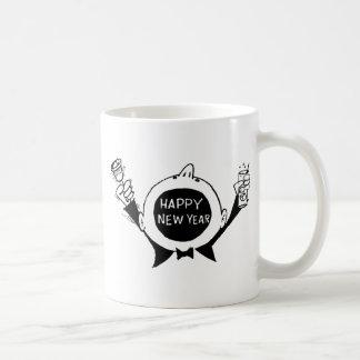 New Year's Eve T-Shirts, New Years Eve Gift Basic White Mug