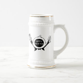New Year's Eve T-Shirts, New Years Eve Gift Beer Steins