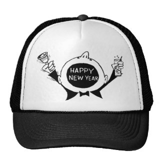 New Year's Eve T-Shirts, New Years Eve Gift Trucker Hats