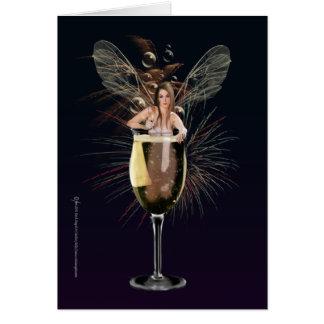 New Years Fairy Card