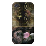 New Years - Golden Elegance - Cocker Spaniel iPhone 4/4S Covers