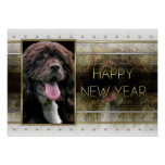 New Years - Golden Elegance - Cocker Spaniel Posters