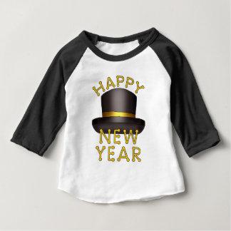 New Years hat baby t-shirt