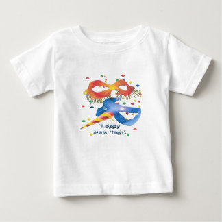 New Year's Masks Baby T-Shirt