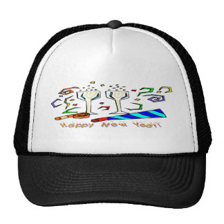 New Year's Noise Makers Trucker Hat