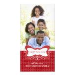 New Years Photocards Custom Photo Card