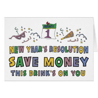 New Years Resolution Card