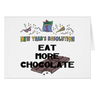 New Years Resolution Greeting Cards