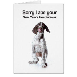 New Years Resolution (GSP) - Greeting Card