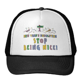 New Years Resolution Hats