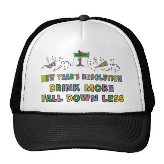 New Year's Resolution Hat