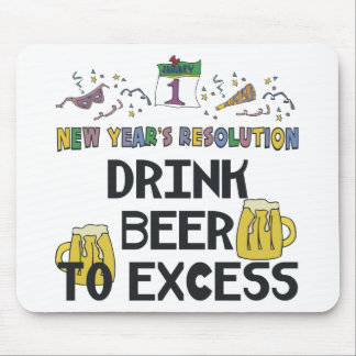 New Years Resolution Mouse Pad