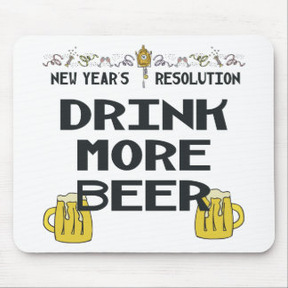 New Years Resolution Mousepad