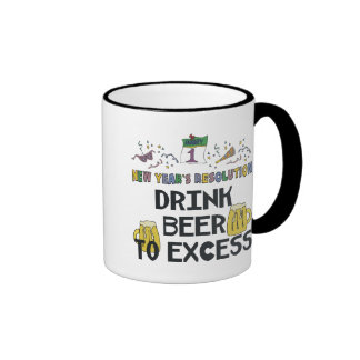 New Years Resolution Ringer Mug