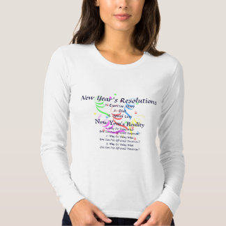 New Year's Resolutions T-shirt Funny