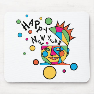 New Years T-Shirts Funny New Year's Gift Mouse Pad