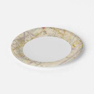 New York 10 Paper Plate