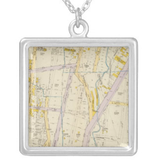 New York 10 Silver Plated Necklace
