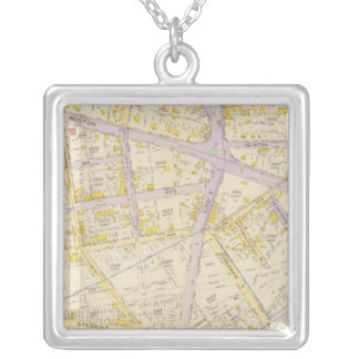 New York 11 Silver Plated Necklace