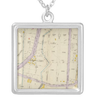 New York 12 Silver Plated Necklace