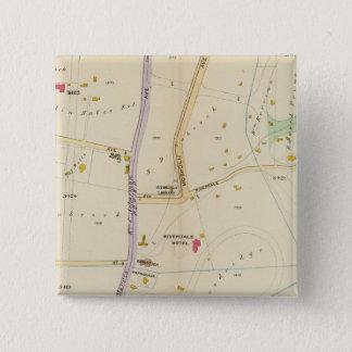 New York 15 15 Cm Square Badge