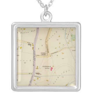 New York 15 Silver Plated Necklace