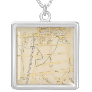 New York 16 Silver Plated Necklace