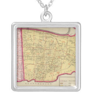 New York 18 Silver Plated Necklace