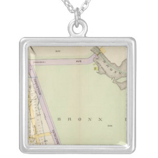 New York 20 Silver Plated Necklace