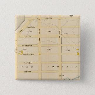 New York 21 15 Cm Square Badge
