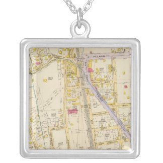 New York 21 Silver Plated Necklace