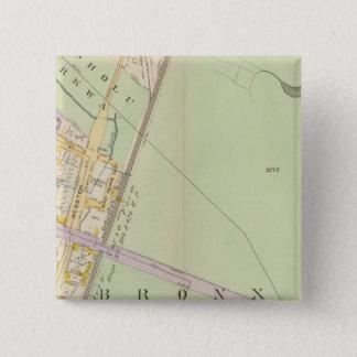 New York 24 15 Cm Square Badge