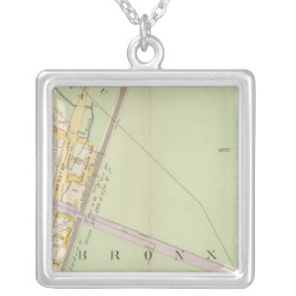 New York 24 Silver Plated Necklace