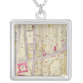New York 26 Silver Plated Necklace