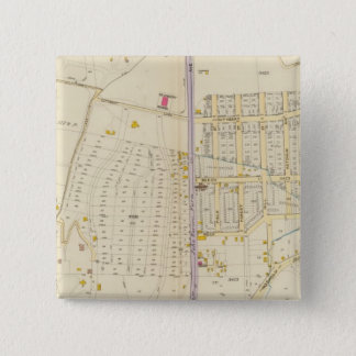 New York 27 15 Cm Square Badge