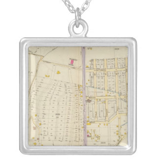 New York 27 Silver Plated Necklace