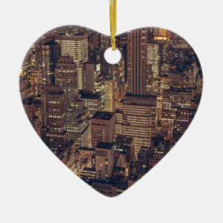 New York 2 Christmas Ornament